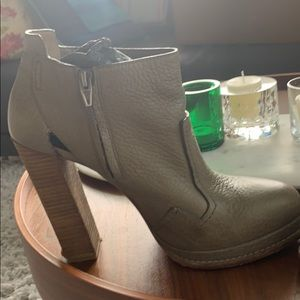 Alexander Wang leather booties (perfect for Fall)